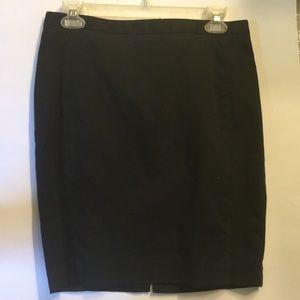 Express women's black pencil skirt sz 4